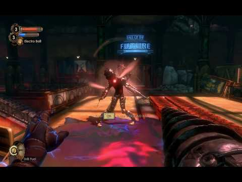 Bioshock 2 tips on how to defeat / fight / kill a big sister (first battle)
