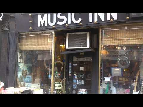 #20 NYC Greenwich Village Record Stores Tour and Rock Landmarks / My First BLUE NOTE