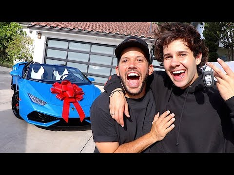D-Strong - Random Guy Surprises Friend With A LAMBORGHINI!