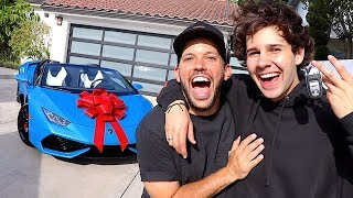 SURPRISING BEST FRIEND WÏTH LAMBORGHINI!!