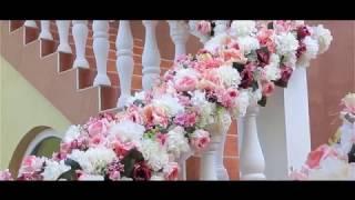 Оформление дома невесты на свадьбе Каролины и Гамлета