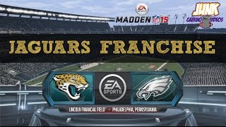 Madden 15 (PS4): Jacksonville Jaguars Connected Franchise - EP1 (Week 1 vs Eagles)