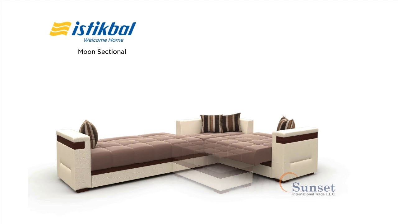 Moon Sectional Sofa By Istikbal Furniture From Turkey