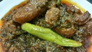 Delhi ka degi palak goshtdegi palak gosht recipe