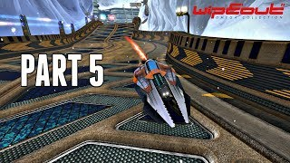 Wipeout Omega Collection Campaign Part 5 - Wipeout HD Frenzy (PS4 Pro Gameplay)