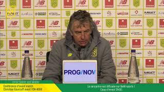 VIDEO: LIVE I Conférence de Presse d'avant match : FCN-ASSE