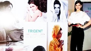 Kriti Sanon launches Trident group new Bath & Home Linen collection 2015