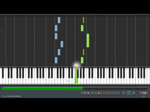 Frere Jacques - Piano Tutorial (Synthesia) + Sheet Music & MIDI