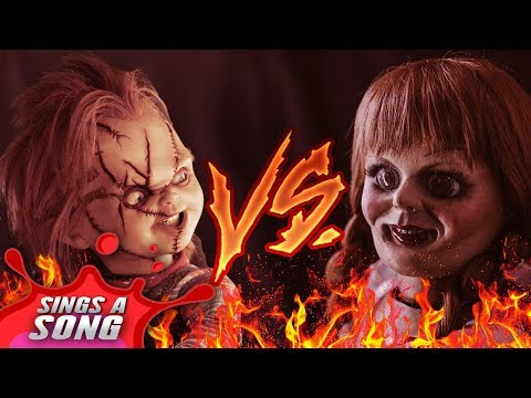 Chucky Vs Annabelle (Childs Play Vs The Conjuring Dolls Scary Horror Parody)