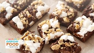 Rocky Road Brownies - Everyday Food with Sarah Carey