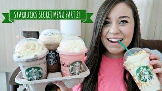 starbucks secret menu taste test