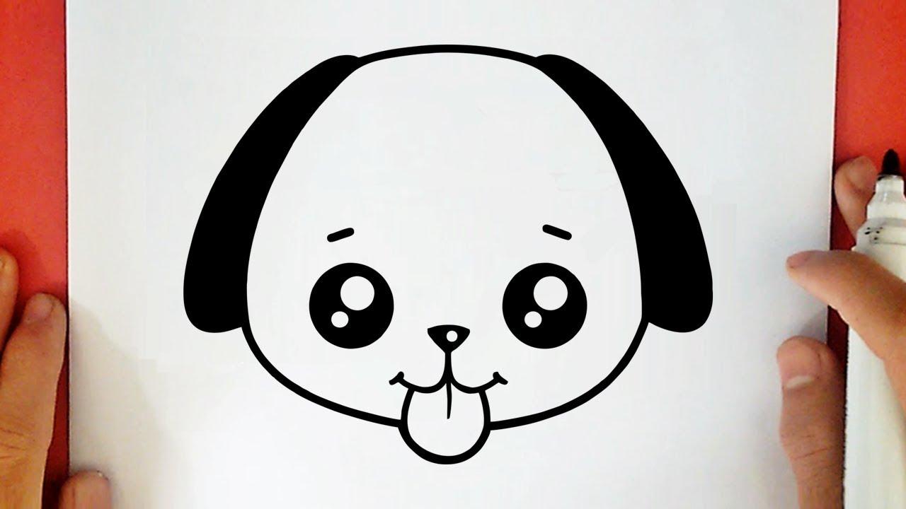 Como Desenhar Um Cachorrinho Kawaii Youtube