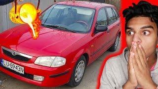 Guy POURS LAVA On His Car… (REGRETS IT)