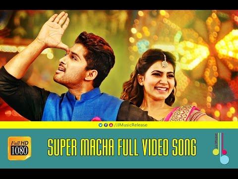 Super Macha Full Video Songᴴᴰ - S/o.SathyaMurthy Malayalam (2015) Official  AlluArjun,DeviSriPrasad