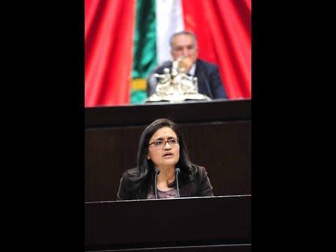 Dip. Aleida Alavez (MORENA) - Reservas a las reformas a CPEUM, en materia de fuero e inmunidad
