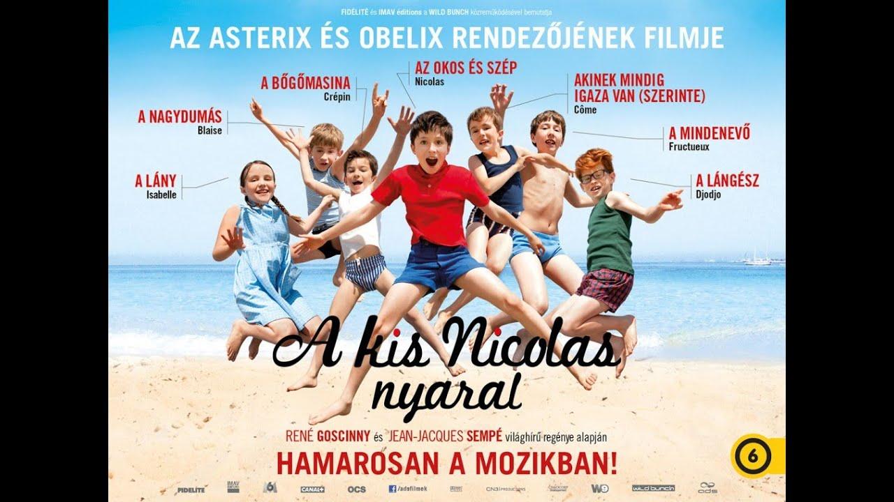 A Kis Nicolas Nyaral Les Vacances Du Petit Nicolas Szinkronizalt Elozetes 6 Youtube