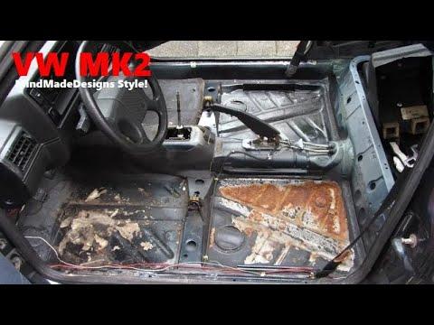 How To Undersealing A Car Bottom Rust Repair Inside
