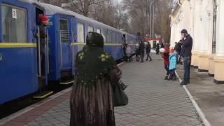 На зимних каникулах заработала детская железная дорога
