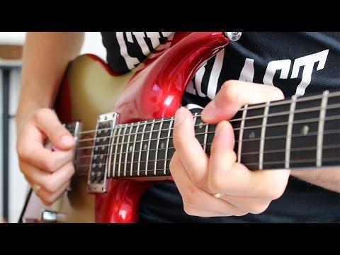 Crushing Day solo (Joe Satriani) - Cover