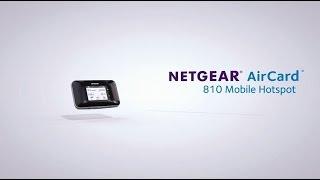 Hotpost mobile NETGEAR Aircard AC810 : l'accès internet 3G/4G en tous lieux et pour tous !