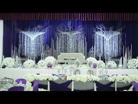 Glam wedding by dsanibridal