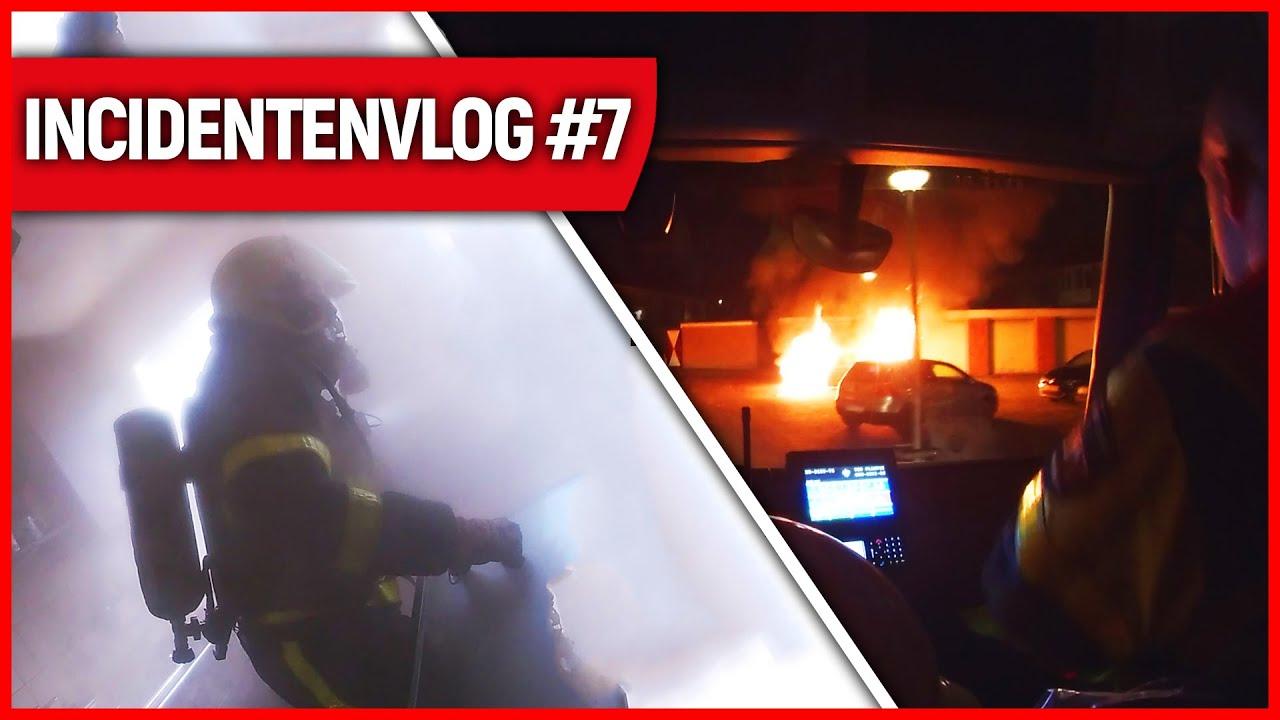 Slachtoffer gered bij woningbrand | Brandweervloggers Rick & Richard | Incidentenvlog #7