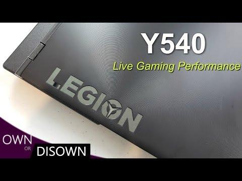 LENOVO Y540 GAMING PERFORMANCE - Thermals & Framerates
