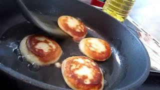 рецепт простых оладий / завтрак