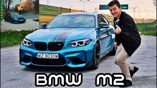 Trening latania bokiem w najpiękniejszym BMW M2!