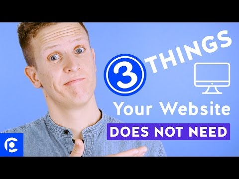 Church Website Design - 3 Things Your Church Website DOES NOT Need