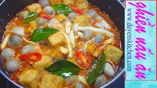 Cách Nấu Nước Lèo BÚN THÁI CHAY Chua Cay Đậm Đà By Duyen's Kitchen | Ghiền Nấu Ăn