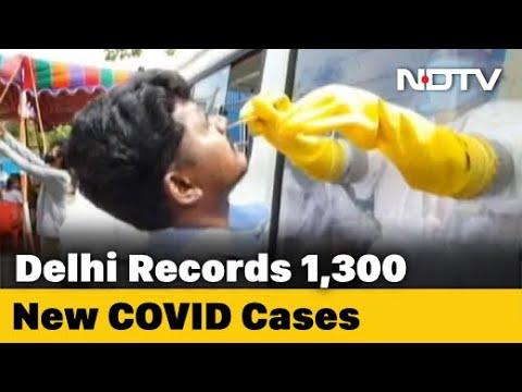 COVID-19 Delhi Updates: With 1,300 Cases, Delhi's COVID-19 Count Cross 1.45 Lakh, Death Reach 4,111