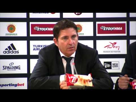 Euroleague Post - Game Press Conference: Panathinaikos Superfoods vs Galatasaray Odeabank Istanbul