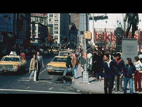America in the 1970s - Color Footage - HD