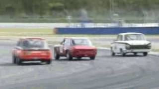 Amazing Battle - BMW 2002 TI - Alfa Romeo GTA - Ford Lotus Cortina - GTC-TC´71