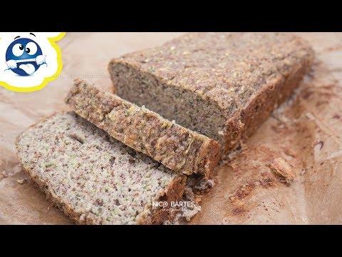 Einfaches Low-Carb Zucchini-Kuchen Rezept Ohne Mehl
