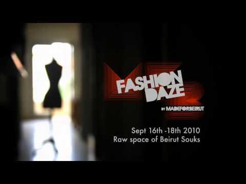 Fashion Daze Beirut Teaser