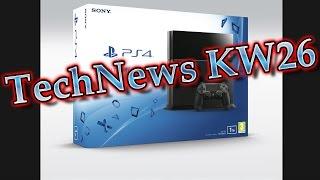 TechNews KW26 - Intel Skylake, Playstation 4 mit 1 TB, Windows 10 auf USB Stick