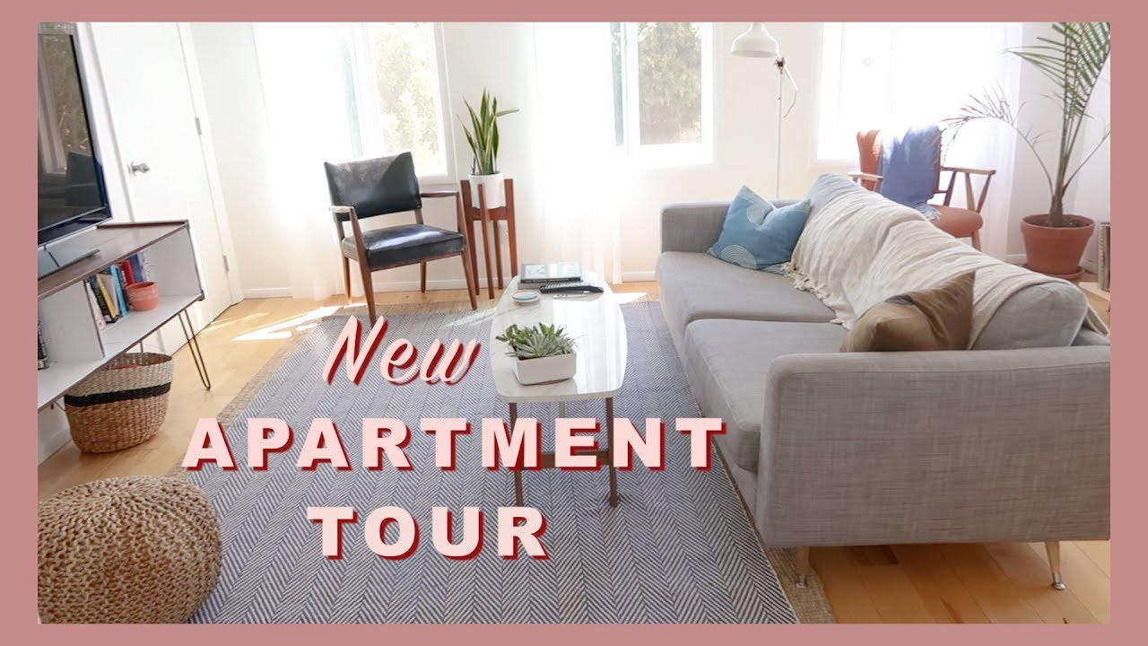 NEW Apartment Tour   Decorating On a Budget   YouTube NEW Apartment Tour   Decorating On a Budget