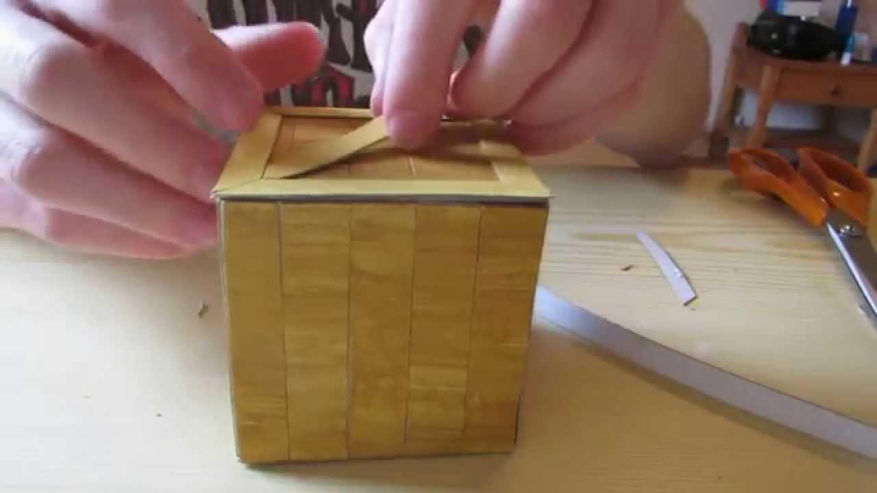 tutoriel fabriquer une caisse smash youtube. Black Bedroom Furniture Sets. Home Design Ideas