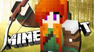 ДЕВУШКА РОБИН ГУД - Minecraft с Девушкой #2