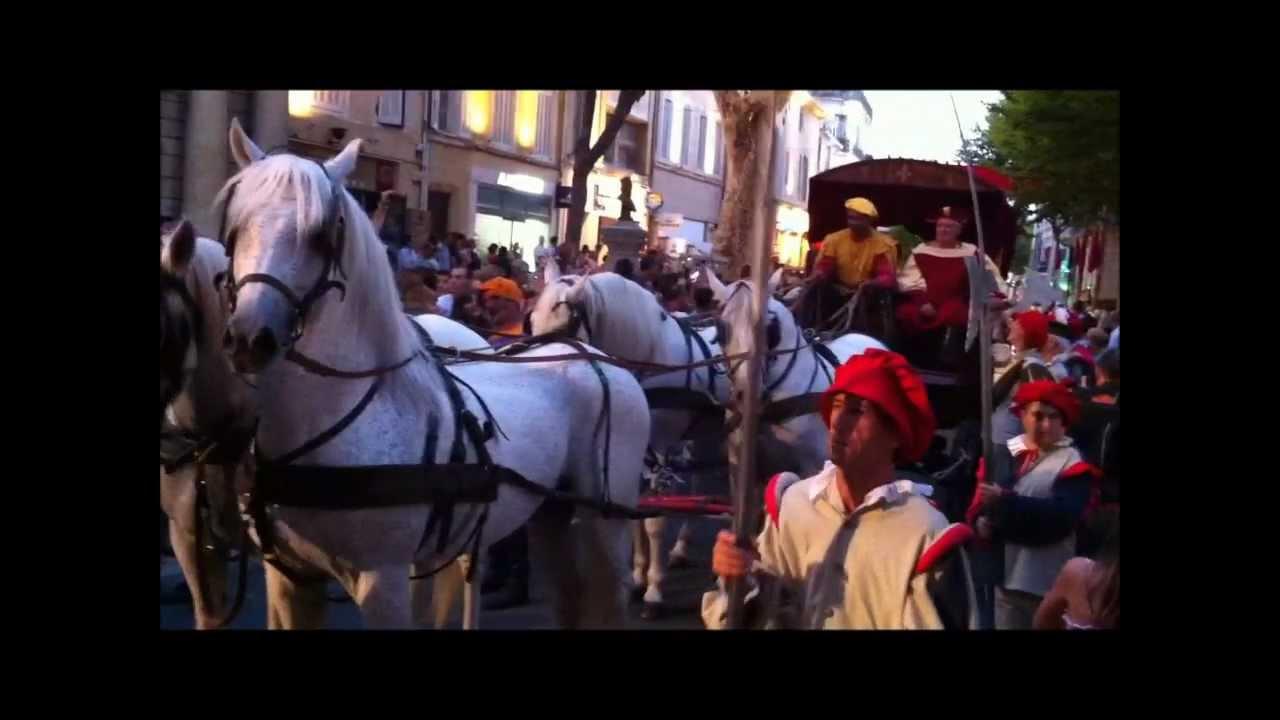 Reconstitution historique salon de provence 2012 youtube - Reconstitution historique salon de provence ...