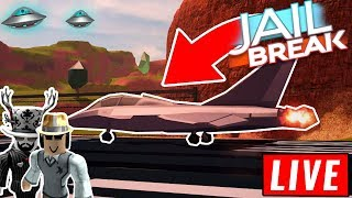 ROBLOX JAILBREAK EXPLORING THE UNDERWATER MAP | GRINDING FOR THE JET
