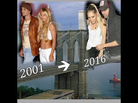 Enrique Iglesias and Anna Kournikova - Bridge through the time.