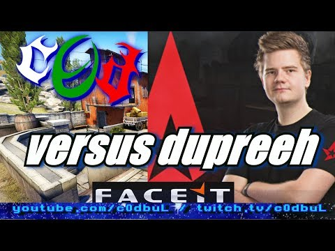 CS:GO FACEIT: c0d vs dupreeh (Astralis) - feat. Belov & actavis
