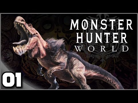 Monster Hunter World (PC) - Ep. 1: The First Hunt! | Let's Play/Gameplay
