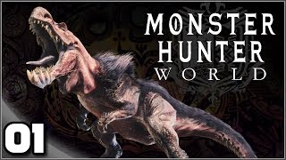 Monster Hunter World (PC) - Ep. 1: The First Hunt! | Let