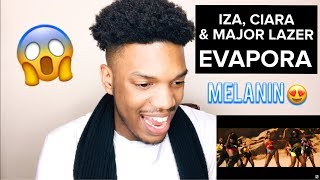 Baixar IZA, CIARA AND MAJOR LAZER - EVAPORA (OFFICIAL MUSIC VIDEO) REACTION
