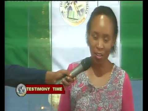 Incredible! Real snake comes out of a Botswana woman after Deliverance at FANO ministry