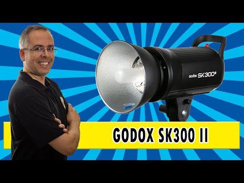 Flash de estúdio compacto Godox SK 300 II | review completo